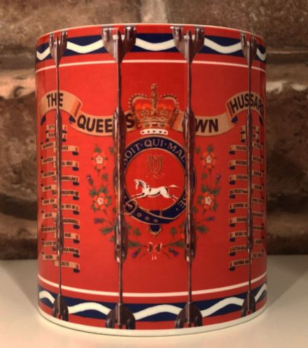 The Queen's Own Hussars Drum Mug